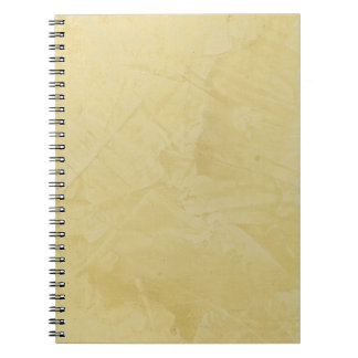 Tuscan Sun Faux Finish Spiral Note Books