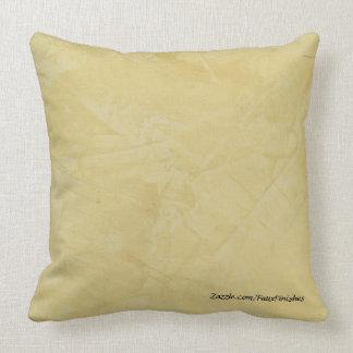 Tuscan Sun Faux Stone Pattern Throw Pillows
