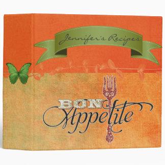 Tuscan Sunset Recipe Binder