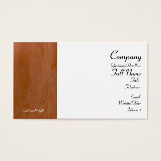 Tuscan Tangerine Business Cards