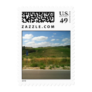 Tuscan View Stamp