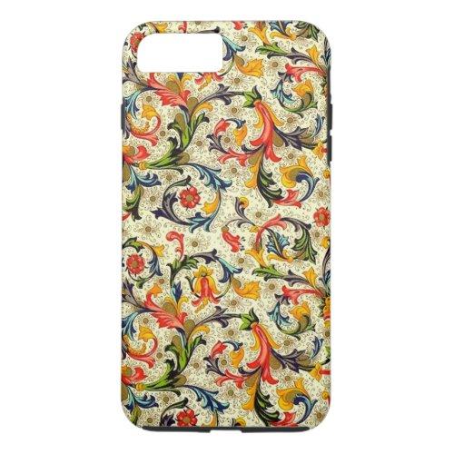 Tuscan Vines iPhone X/8/7 Plus Tough Case Phone Case