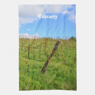 Tuscan Vineyard Hand Towel