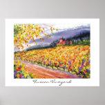 Tuscan Vineyard - poster