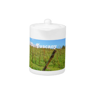 Tuscan Vineyard Teapot