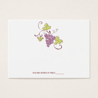 Tuscan Vineyard Wedding Place Cards