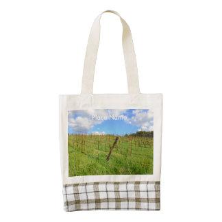 Tuscan Vineyard Zazzle HEART Tote Bag