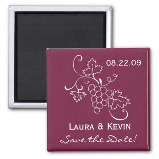 Tuscan Wedding Save the Date Magnet