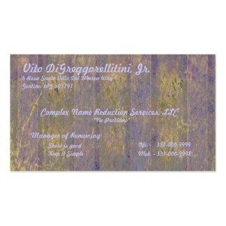 Tuscan Window Business Card
