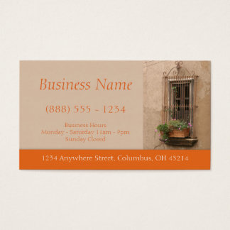 Tuscan Window Business Cards