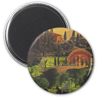 tuscany 2 inch round magnet
