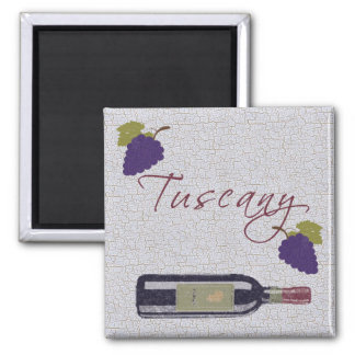 Tuscany 2 Inch Square Magnet