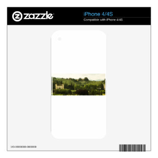Tuscany Beauty Photo Print Skins For iPhone 4S