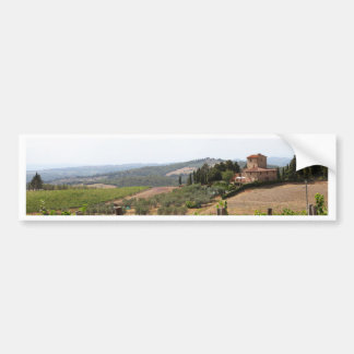 Tuscany Bumper Sticker