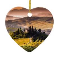 Tuscany Ceramic Ornament