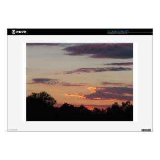 """Tuscany countryside sunset 15"""" laptop decal"""