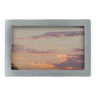 Tuscany countryside sunset belt buckle