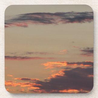 Tuscany countryside sunset coaster