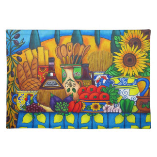 Tuscany Delights American MoJo Placemat