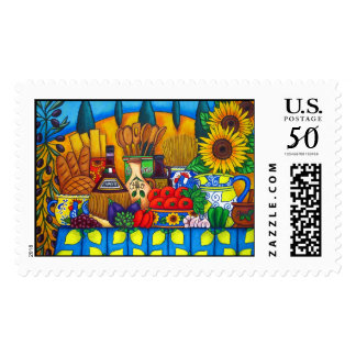 Tuscany Delights Postage Stamp