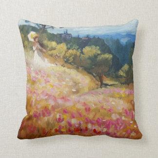 Tuscany dream throw pillow