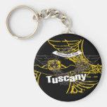 Tuscany Drive the Coast Tshirts and Gifts Key Chains