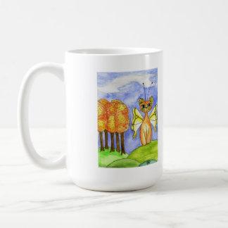 Tuscany, Fantasy Fariy Kitty Coffee Mug