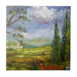 Tuscany Hill Villages Small Square Tile