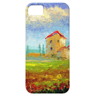 Tuscany HIlside with Poppies iPhone 5 Case