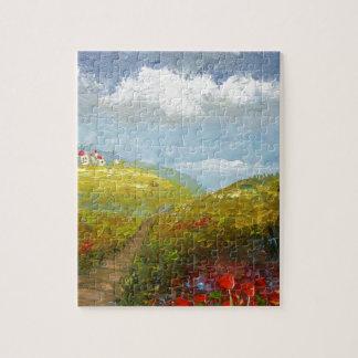 Tuscany Italian Village Jigsaw Puzzles