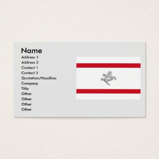Tuscany, Italy Business Card