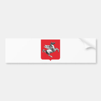 Tuscany (Italy) Coat of Arms Car Bumper Sticker