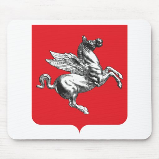 Tuscany (Italy) Coat of Arms Mouse Pads