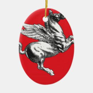 Tuscany (Italy) Coat of Arms Christmas Ornaments