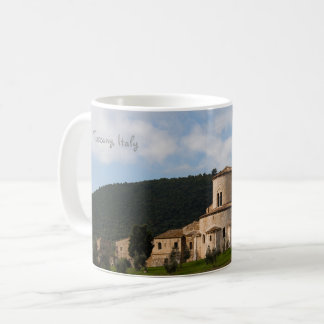 Tuscany, Italy countryside landscape house Coffee Mug