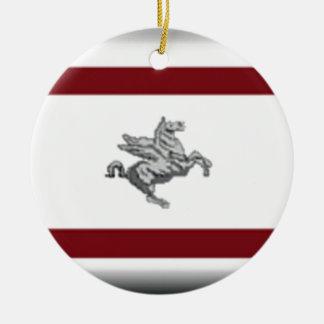 Tuscany (Italy) Flag Christmas Ornaments