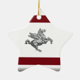 Tuscany (Italy) Flag Christmas Tree Ornament
