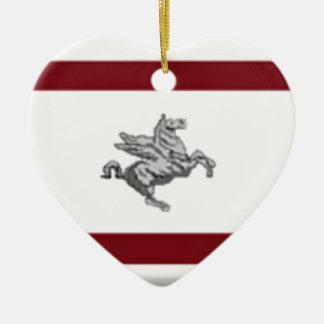 Tuscany (Italy) Flag Ornaments
