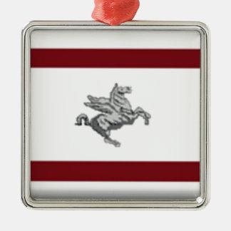 Tuscany (Italy) Flag Ornament