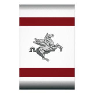 Tuscany (Italy) Flag Custom Stationery