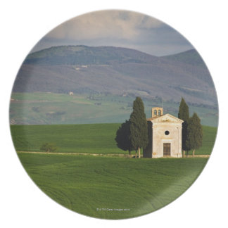 Tuscany, Italy, Val d'Orcia, Pienza, Chapel of Dinner Plate