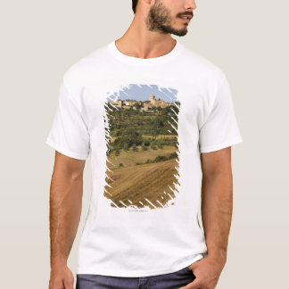 Tuscany landscape around of Monticchiello south T-Shirt
