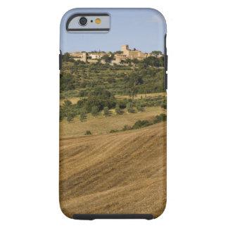 Tuscany landscape around of Monticchiello south Tough iPhone 6 Case