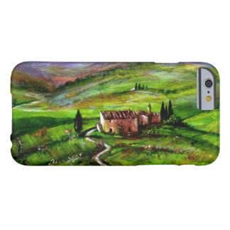 TUSCANY LANDSCAPE WITH GREEN HILLS BARELY THERE iPhone 6 CASE