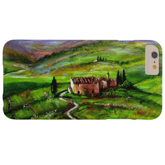 TUSCANY LANDSCAPE WITH GREEN HILLS BARELY THERE iPhone 6 PLUS CASE