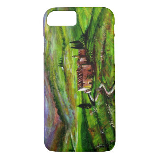 TUSCANY LANDSCAPE WITH GREEN HILLS iPhone 8/7 CASE