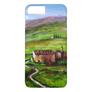 TUSCANY LANDSCAPE WITH GREEN HILLS iPhone 8 PLUS/7 PLUS CASE
