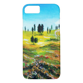 TUSCANY LANDSCAPE WITH POPPIES iPhone 8/7 CASE