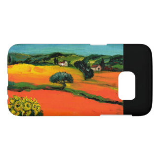 TUSCANY LANDSCAPE WITH SUNFLOWERS SAMSUNG GALAXY S7 CASE