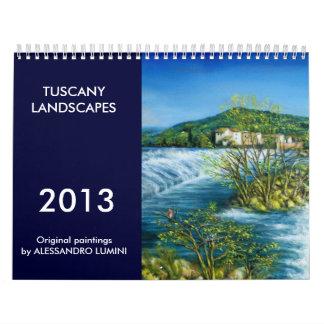 TUSCANY LANDSCAPES 2013 CALENDAR